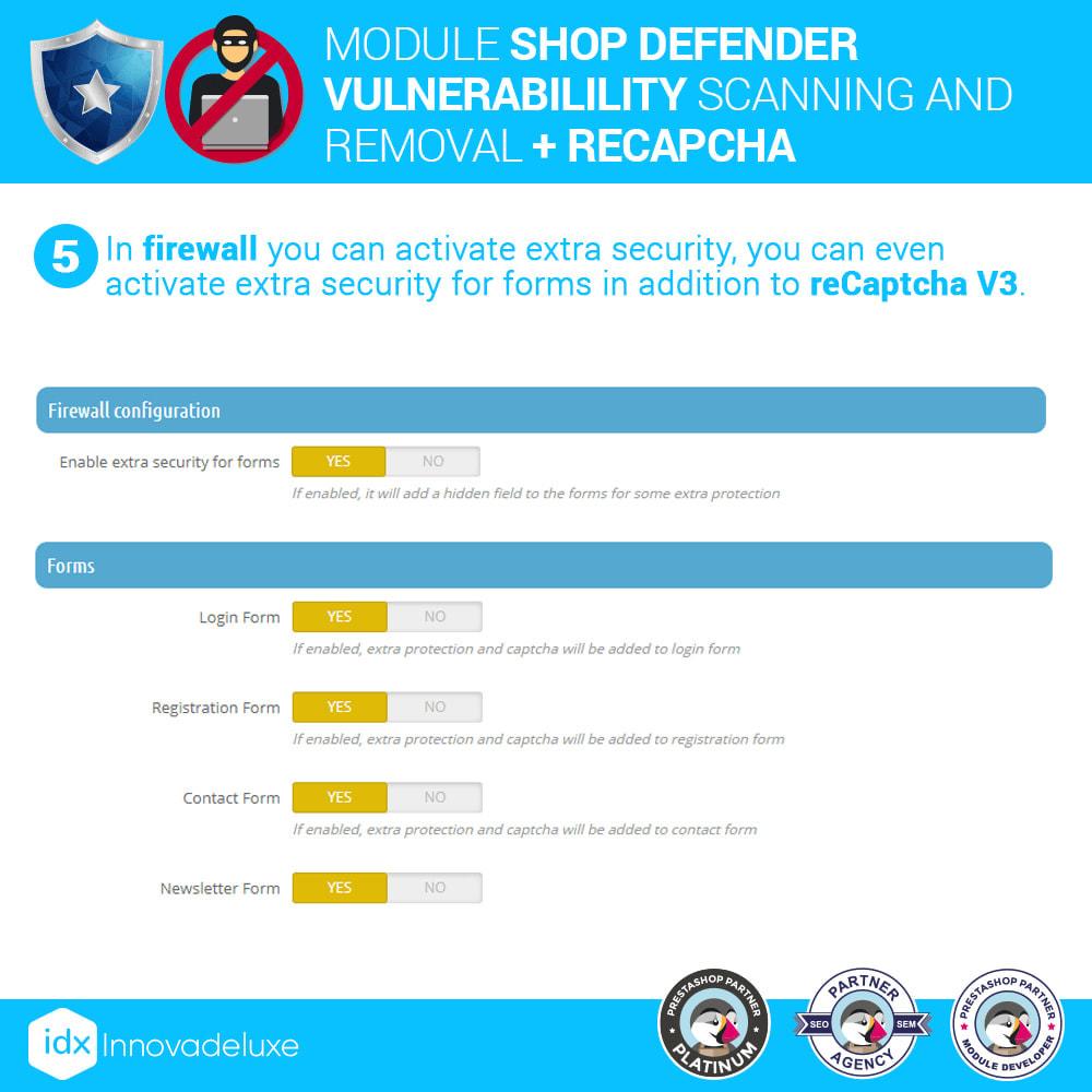 module - Инструменты администрирования - Shop Defender (Malware Removal + Firewall) - 9