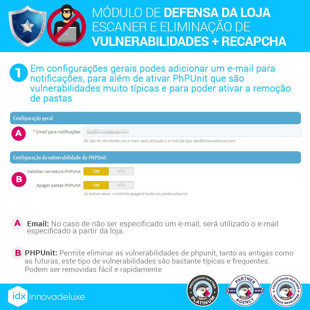 module - Administração - Store Defender (Remoção de malware + Firewall) - 2