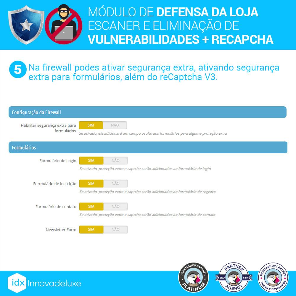 module - Administração - Store Defender (Remoção de malware + Firewall) - 9