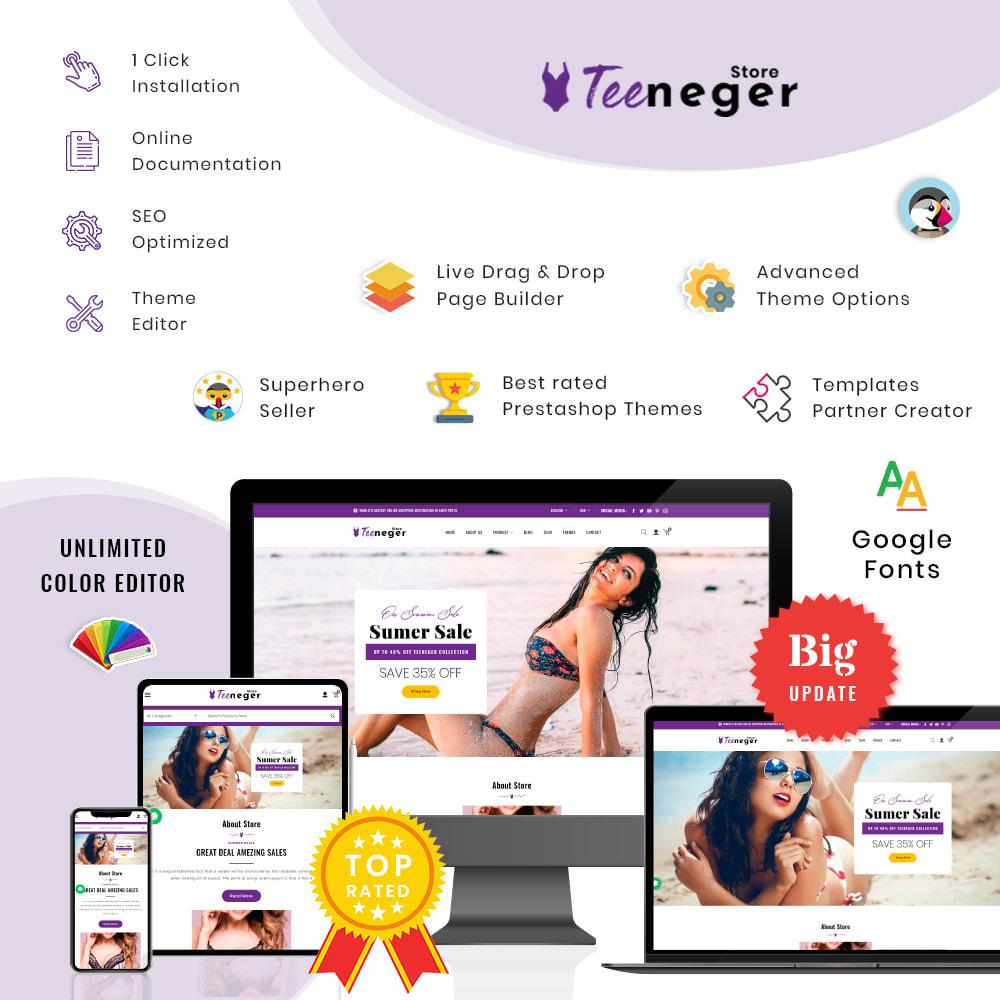 theme - Lingerie & Erwachsene - Teeneger Store - 1