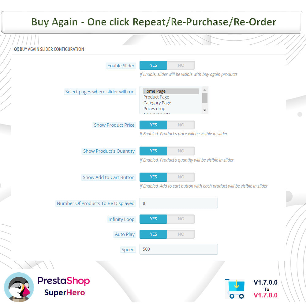 module - Bestelproces - Buy Again- One click Repeat/Re-Purchase/Re-Order - 8