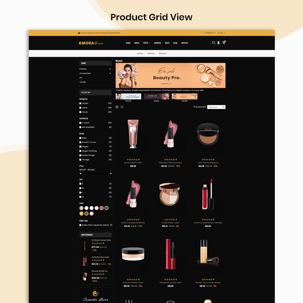 theme - Gezondheid & Schoonheid - Amora Beauty Store - 3