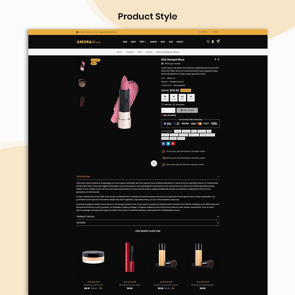 theme - Gezondheid & Schoonheid - Amora Beauty Store - 4