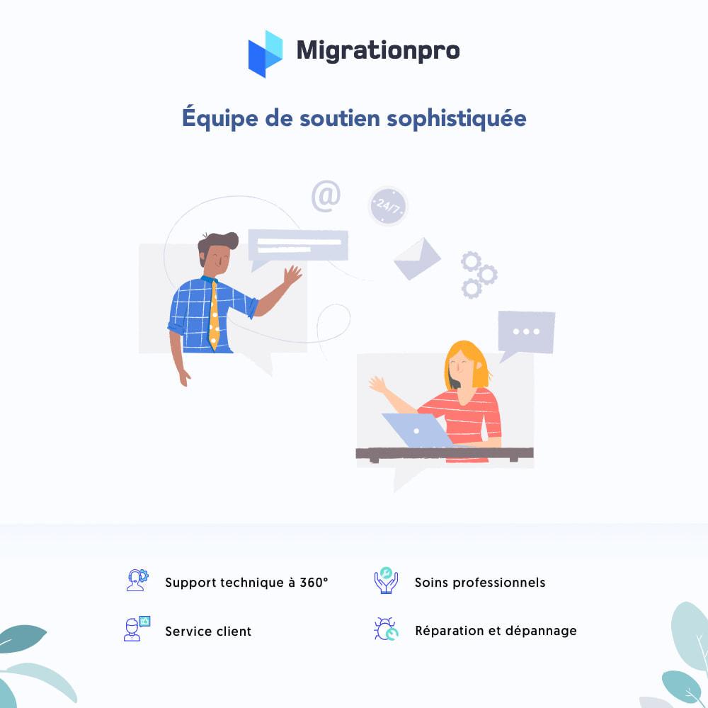 module - Migration de Données & Sauvegarde - Outil de migration Zen Cart vers  PrestaShop - 8