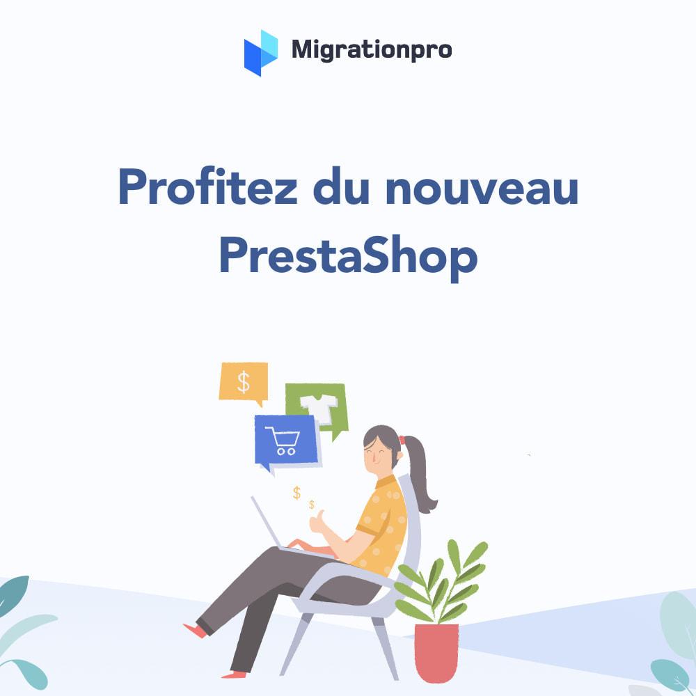 module - Migration de Données & Sauvegarde - Outil de migration Zen Cart vers  PrestaShop - 9