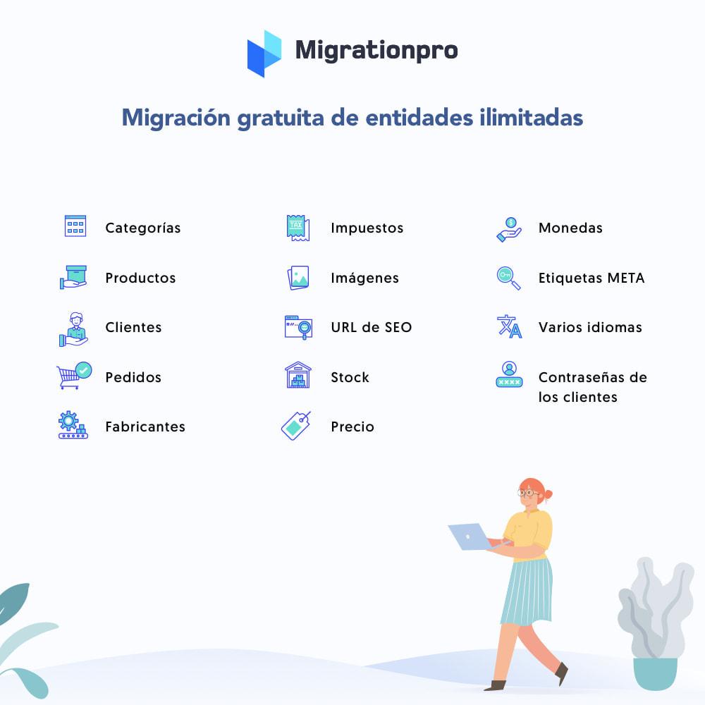 module - Migración y Copias de seguridad - Herramienta de migración de Zen Cart a PrestaShop - 2
