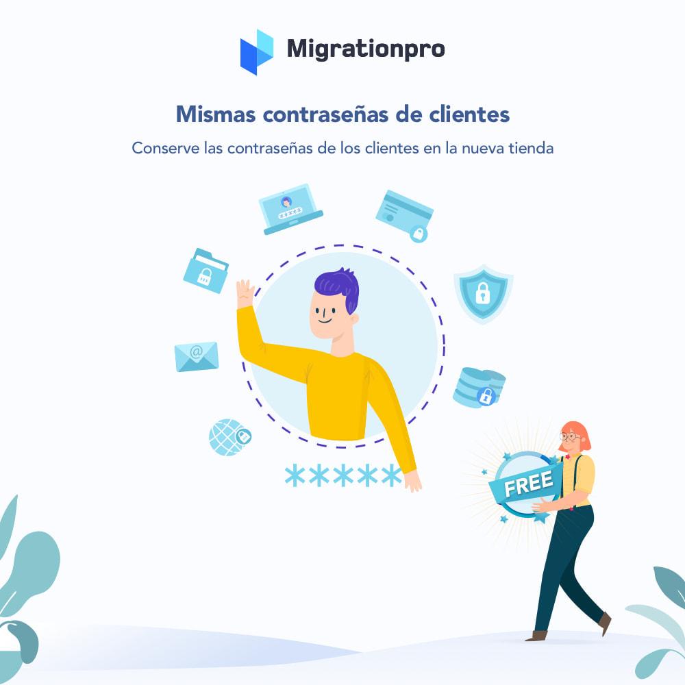 module - Migración y Copias de seguridad - Herramienta de migración de Zen Cart a PrestaShop - 4