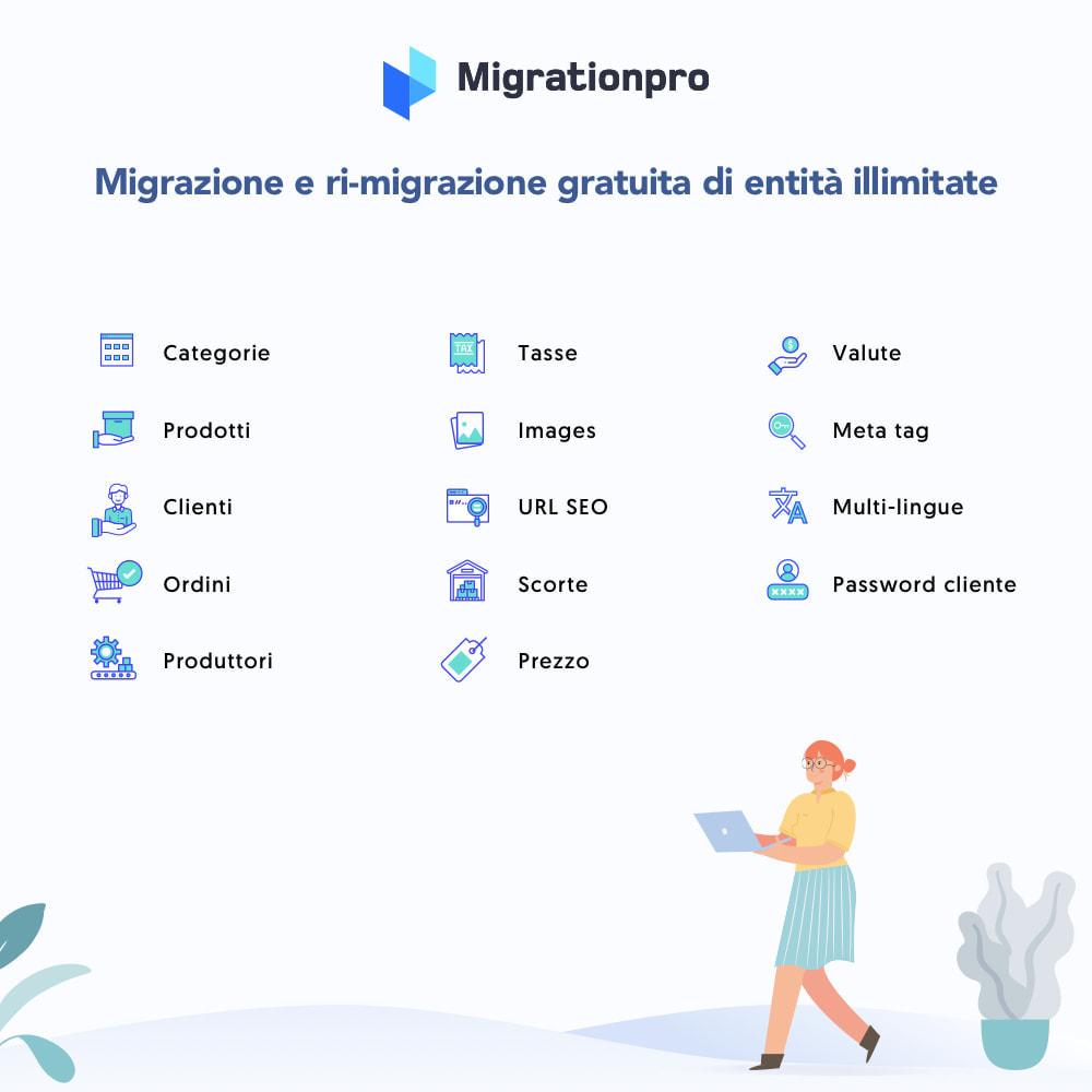 module - Data Migration & Backup - Strumento di migrazione da Zen Cart a PrestaShop - 2