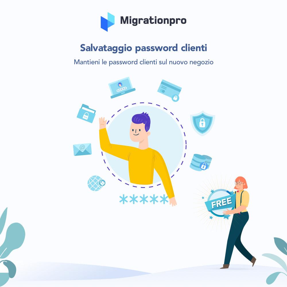 module - Data Migration & Backup - Strumento di migrazione da Zen Cart a PrestaShop - 4