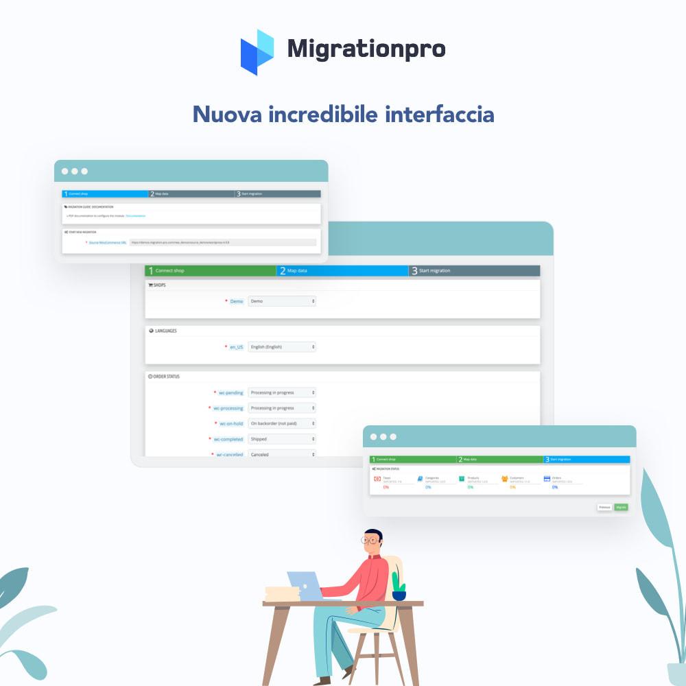 module - Data Migration & Backup - Strumento di migrazione da Zen Cart a PrestaShop - 6