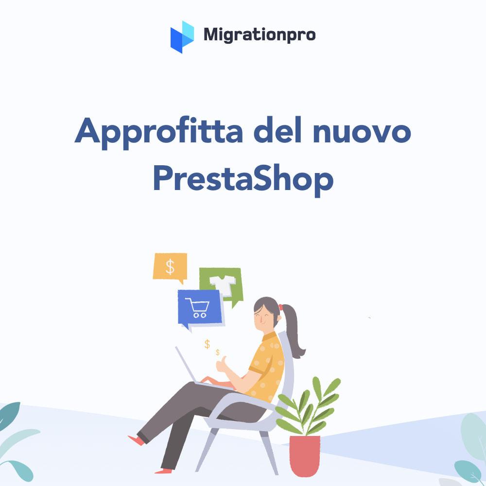 module - Data Migration & Backup - Strumento di migrazione da Zen Cart a PrestaShop - 9