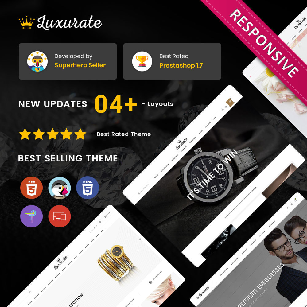 theme - Jewelry & Accessories - Luxurate - The Jewelry Store - 1