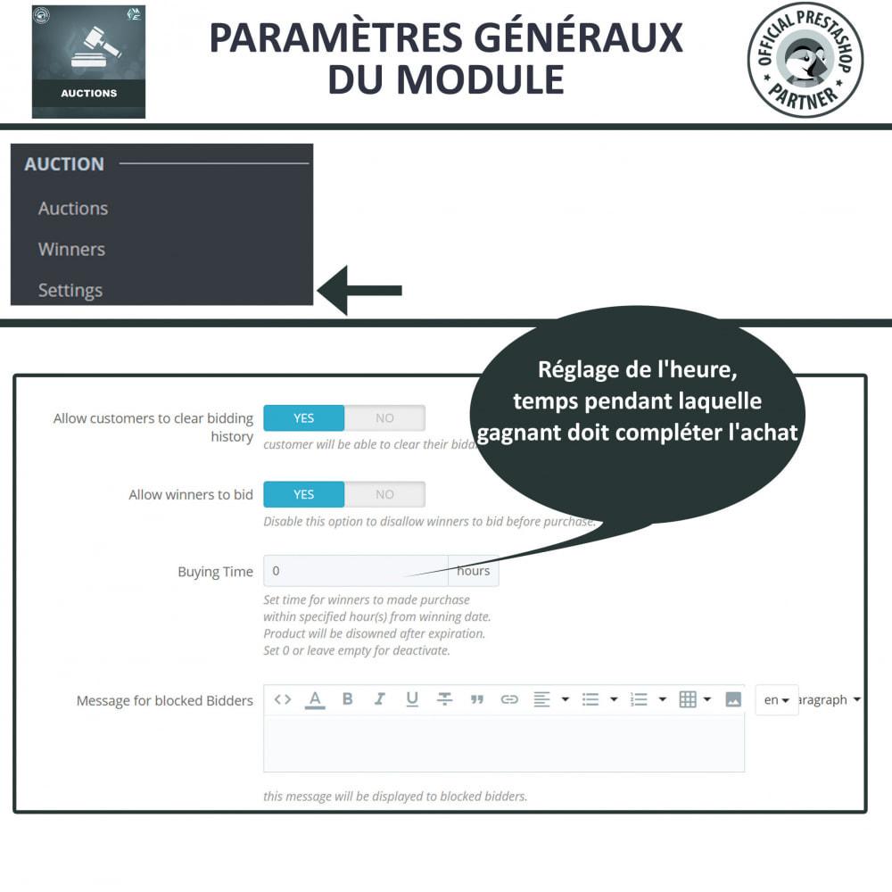 module - Site d'enchères - Enchères Pro - Système d'enchères en ligne - 24