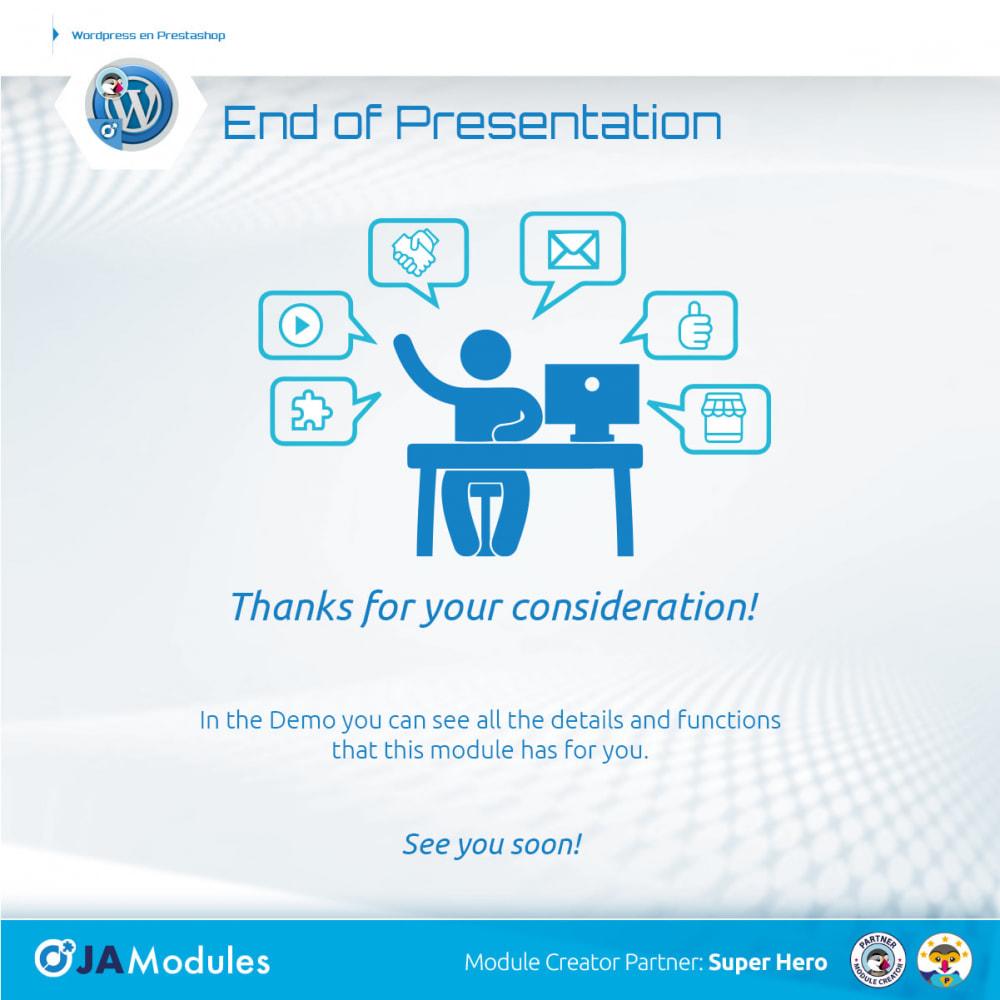 module - Blog, Forum & Actualités - WordPress Inside - 3