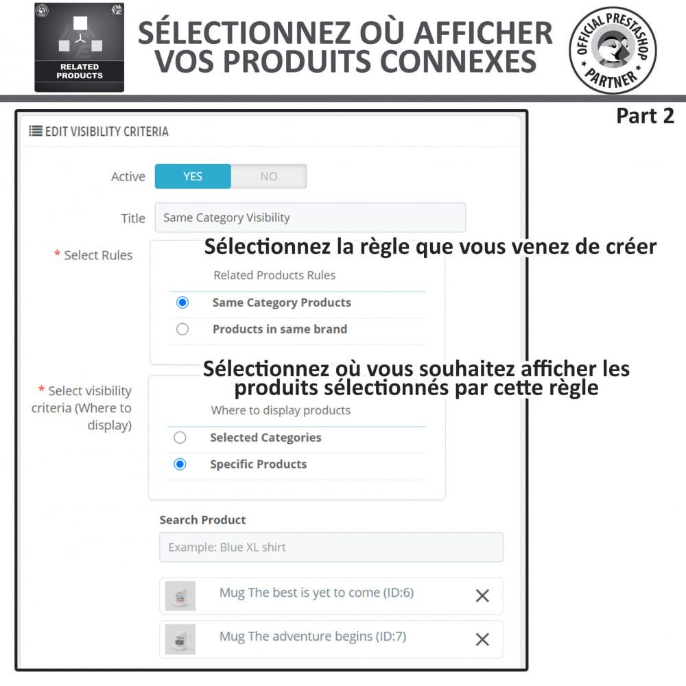 module - Ventes croisées & Packs de produits - Produits Connexes, Curseur Réactif de Produits Connexes - 8