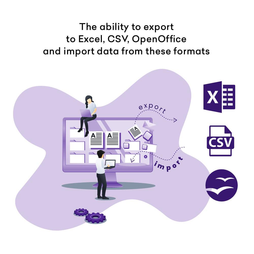 module - Importación y Exportación de datos - Advanced Export Products Orders Cron CSV Excel - 5