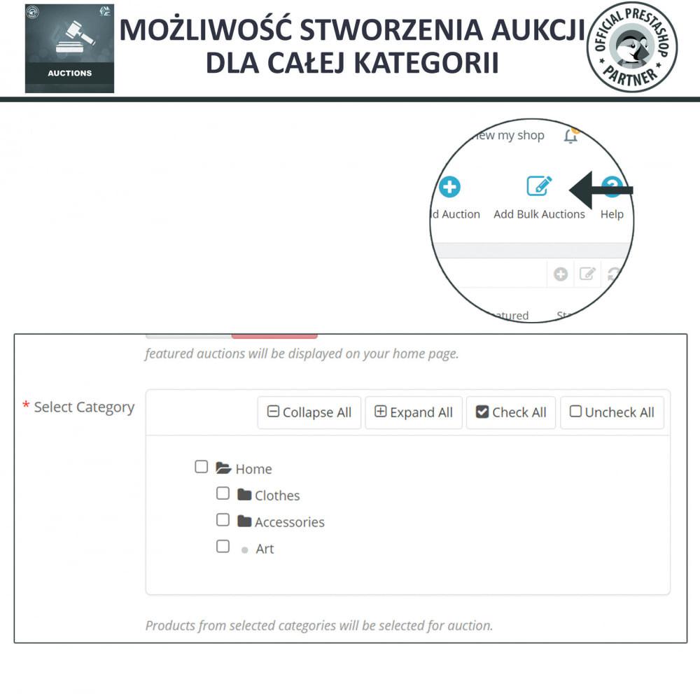 module - Zbuduj stronę aukcyjną - Aukcje Pro, Aukcje i Licytacje Online - 14
