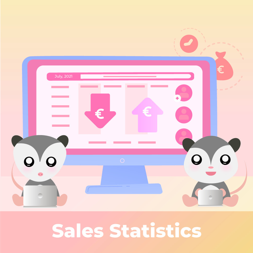 module - Статистика и анализ - Product Sales Reports, Statistics for You and Partners - 1