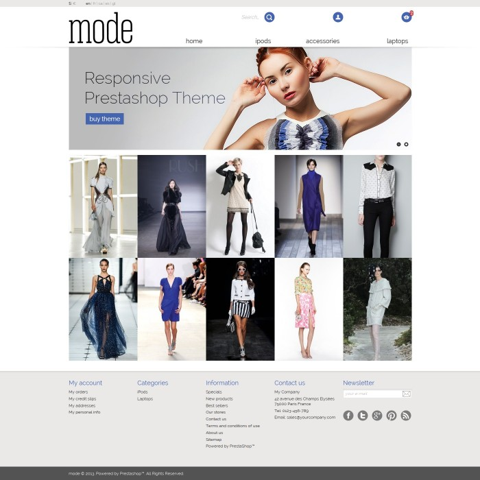 theme - Moda & Calzature - 01 Mode - 2