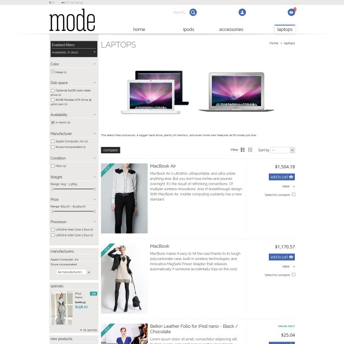 theme - Moda & Calzature - 01 Mode - 4