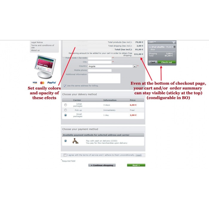 module - Ordering Process - One Page Checkout - 3