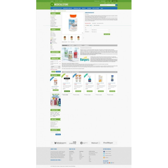 theme - Saúde & Beleza - Medical & Drug Store PrestaShop Theme - MedicalStore - 3