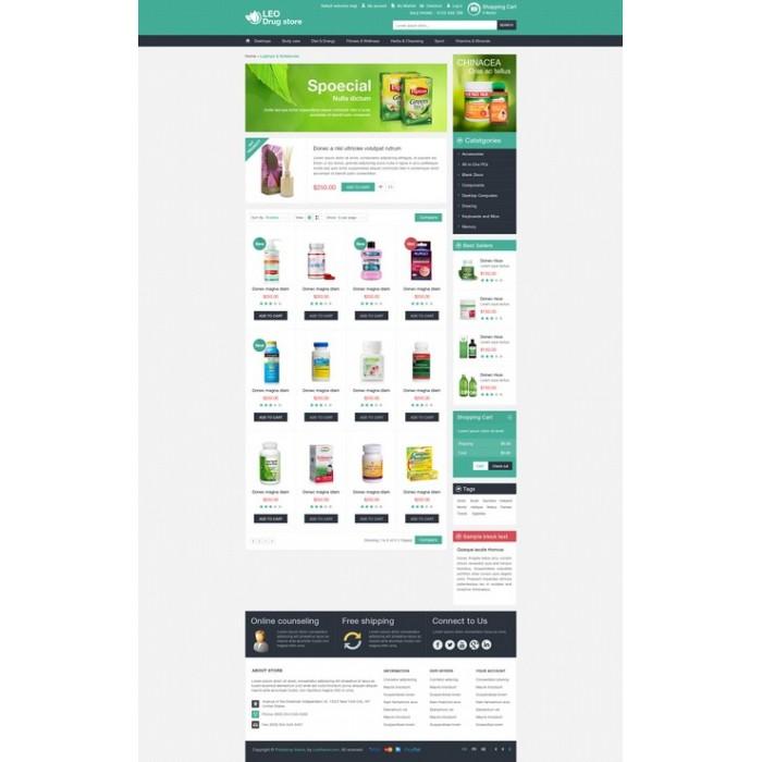 theme - Здоровье и красота - Leo Drug Store - 2