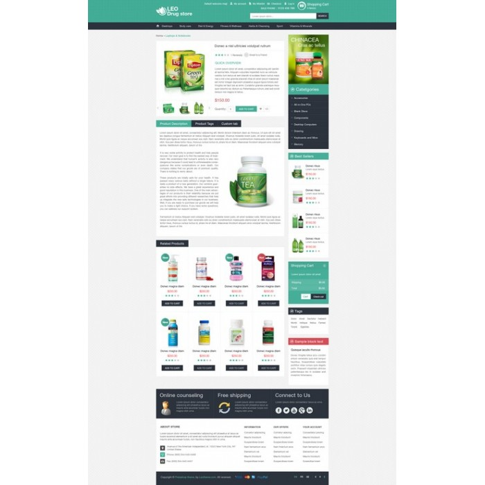 theme - Health & Beauty - Leo Drug Store - 8