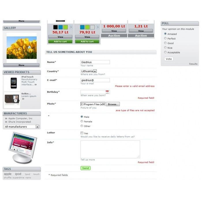 module - Formulario de contacto y Sondeos - Survey & Poll builder - 8