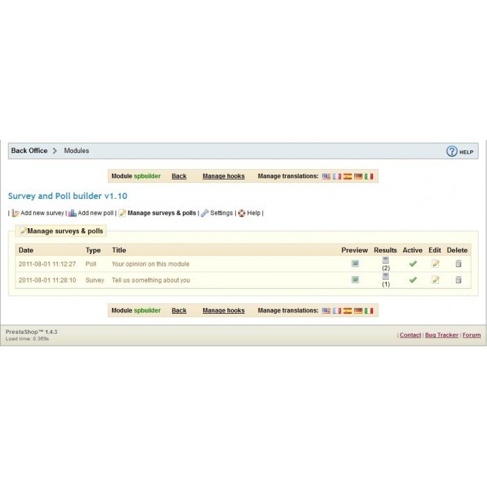 module - Formulario de contacto y Sondeos - Survey & Poll builder - 10