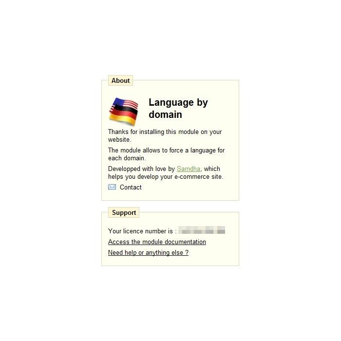 module - International & Localization - Langue par domaine / Language by domain - 3