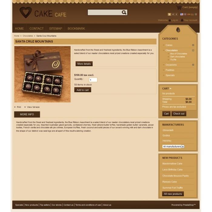 theme - Alimentation & Gastronomie - Cake Prestashop Theme - PRS010006 - 5