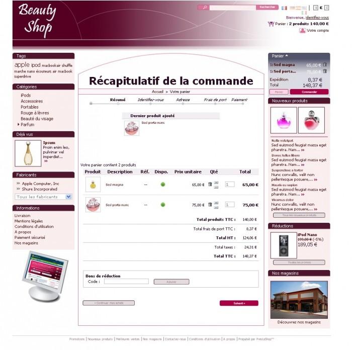 theme - Beauté & Bijoux - Beauty shop (PS 1.4) - 4