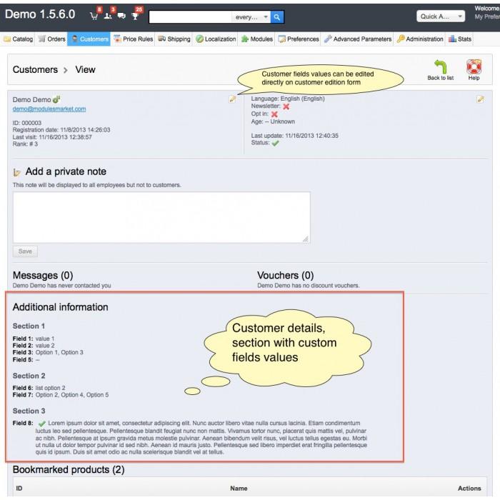 module - Registration & Ordering Process - Custom Fields - 22