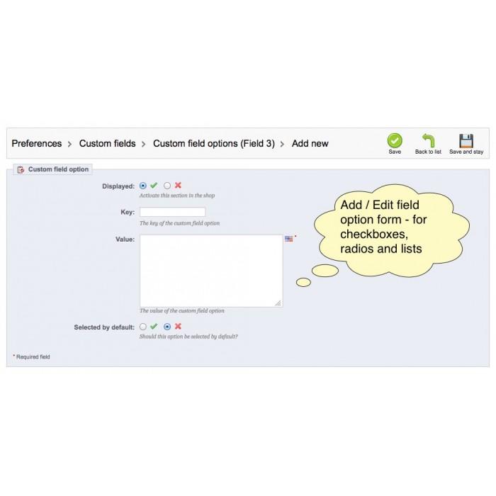 module - Registration & Ordering Process - Custom Fields - 32