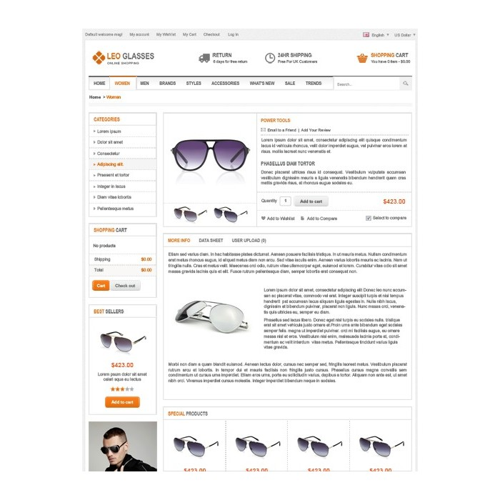 theme - Schmuck & Accesoires - Leo Glasses - 6