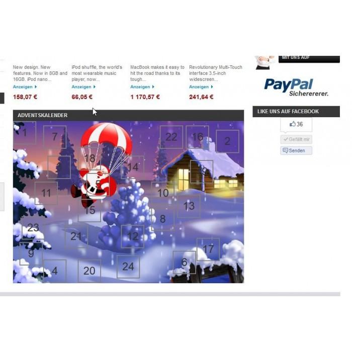 module - Personnalisation de Page - Advent Calendar / Christmas Calendar / Santa Calendar - 7