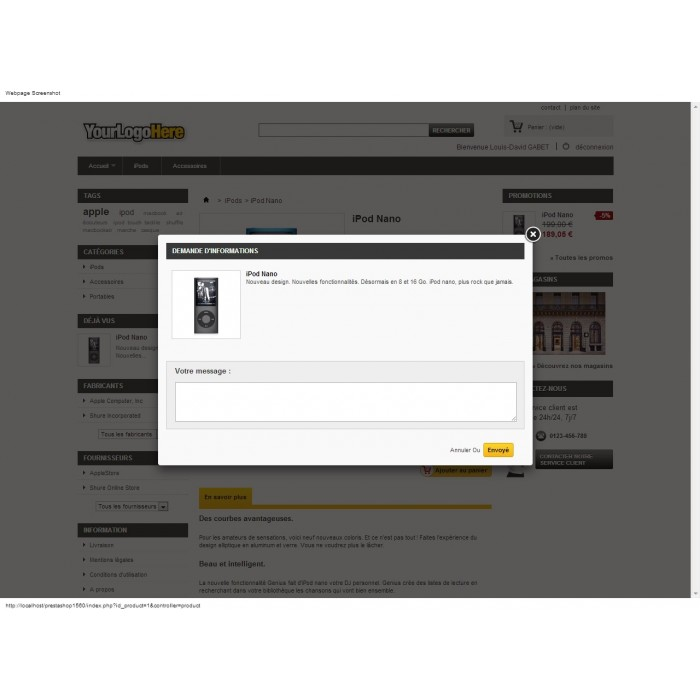 module - Formularz kontaktowy & Ankiety - Ask Infos Seller - 2