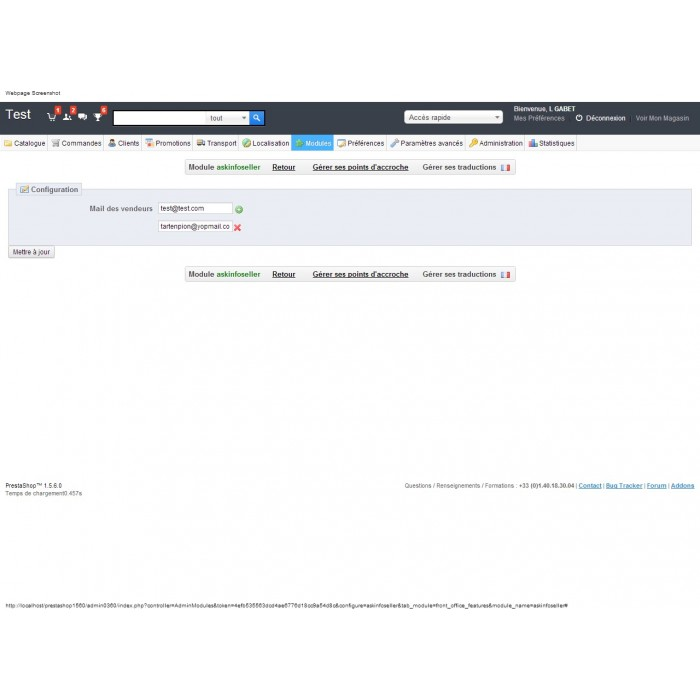 module - Formularz kontaktowy & Ankiety - Ask Infos Seller - 7