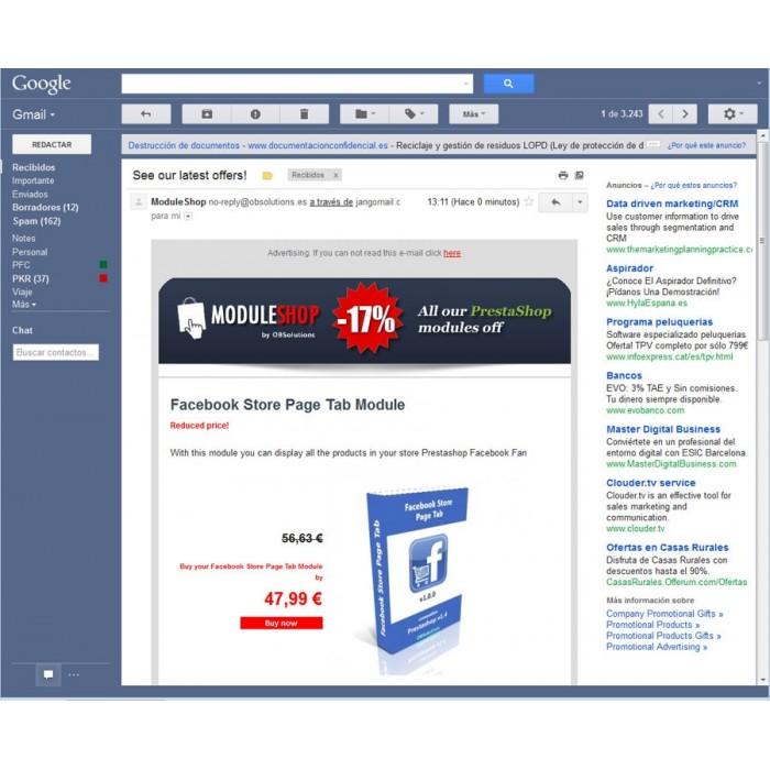 module - Newsletter y SMS - Newsletter Maker Pro - 4