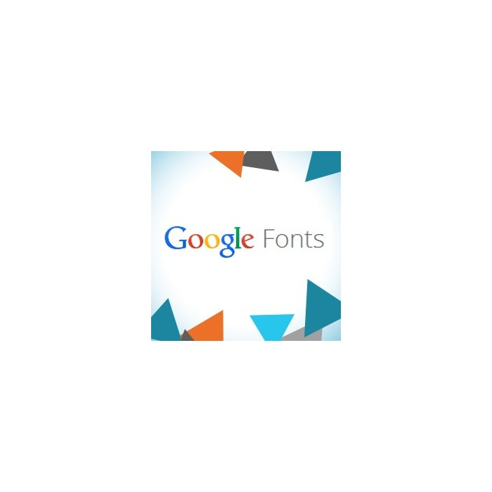 module - Page Customization - Google Fonts - 1