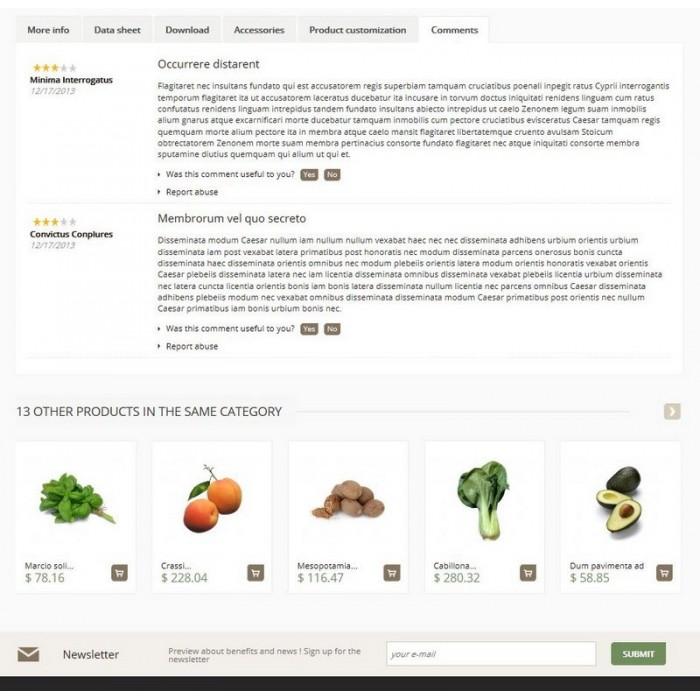 theme - Продовольствие и рестораны - Cenata new - 4