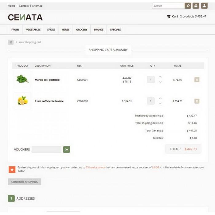 theme - Продовольствие и рестораны - Cenata new - 6