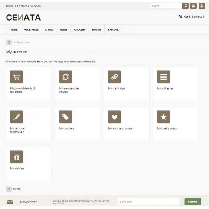 theme - Продовольствие и рестораны - Cenata new - 7