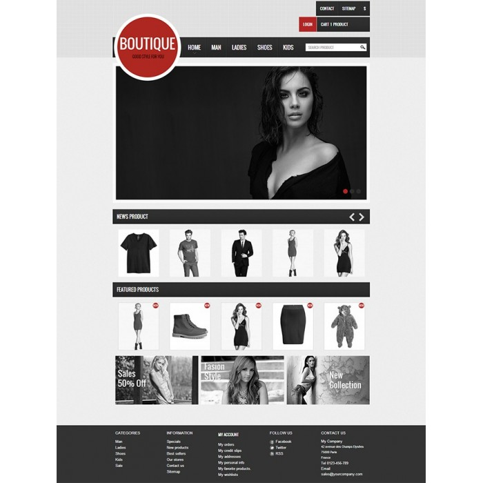 theme - Moda y Calzado - GreatBoutique - 1