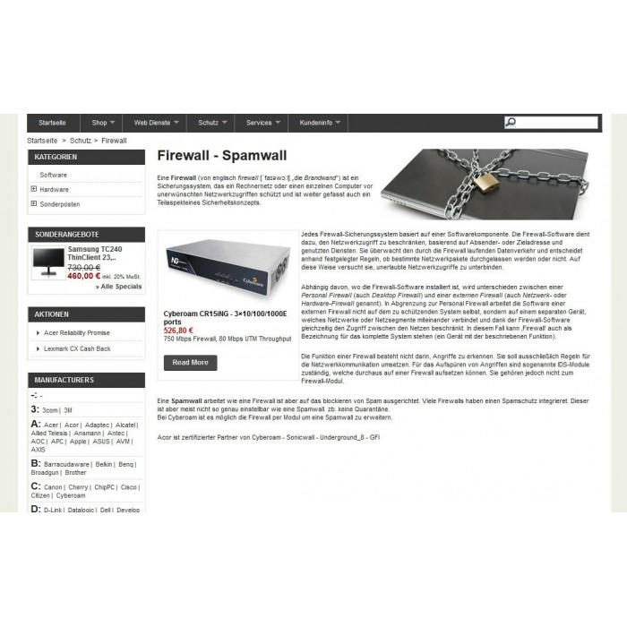 module - Prodotti su Home - Products on CMS - 3