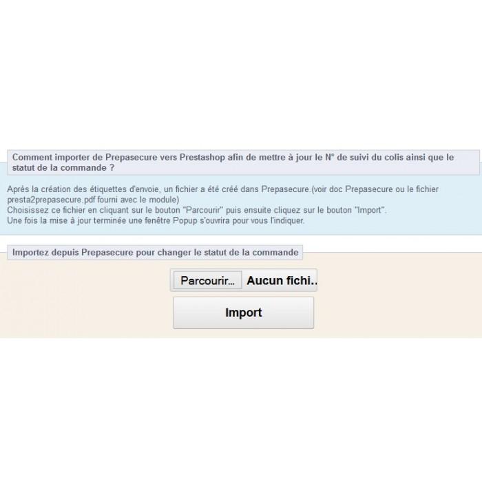 module - Préparation & Expédition - Presta2Prepasecure - 4