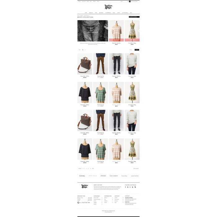 theme - Mode & Schuhe - Leo Fashion Store Prestashop - 6