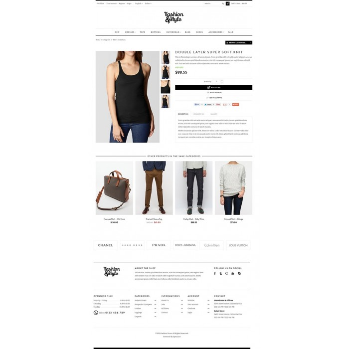 theme - Mode & Schuhe - Leo Fashion Store Prestashop - 7