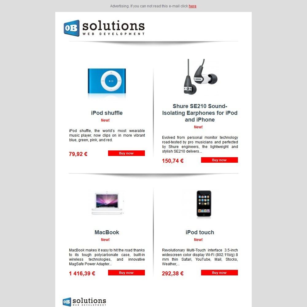 module - Newsletter & SMS - Newsletter Maker Lite - 1